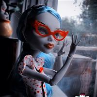 Календарь с моими куклами :)