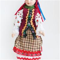 Летний костюм Киевской губернии
