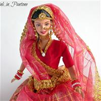 Expressions of India Barbie Wedding Fantasy 2002