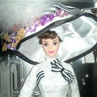 Barbie® Doll as Eliza Doolittle from My Fair Lady™ at Ascot (1996)