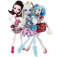 Draculaura, Abbey Bominable & Ghoulia Yelps