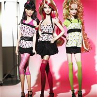 Barbie Top Model  Hair Wear