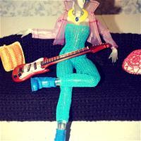 Электро гитара из журнала