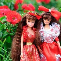 Дамы в красном