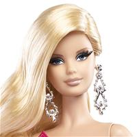 the Barbie Look On The Red Carpet Collection Pink Gown