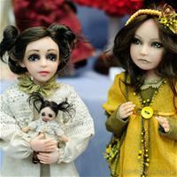 Салон кукол на Тишинке 2014. Часть 2