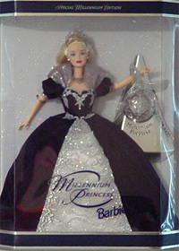 Кукла 1999 Millennium Princess Barbie