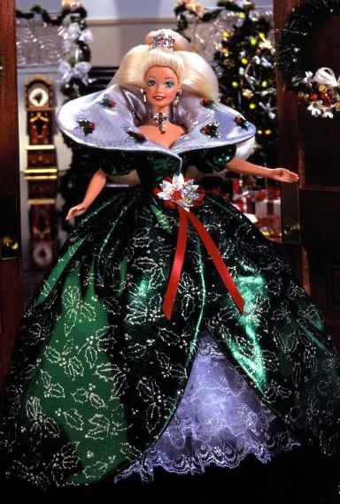Кукла 1995 Happy Holiday Barbie