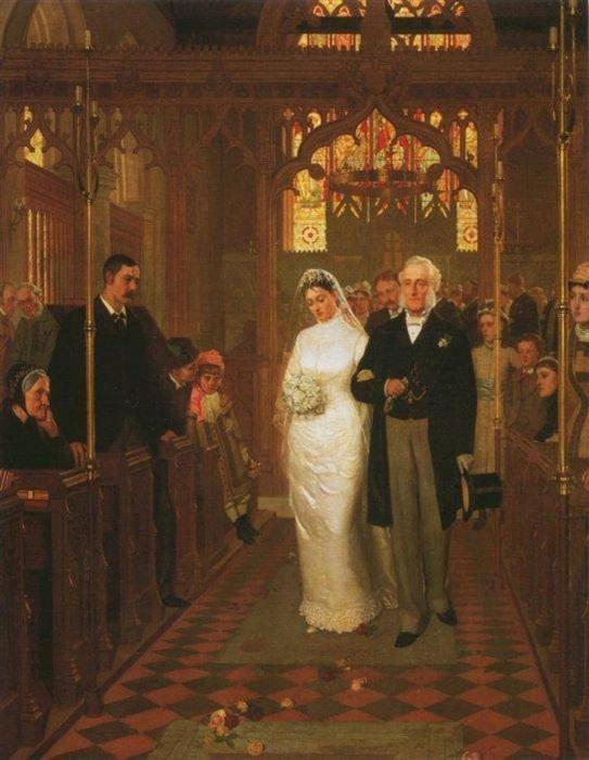 Лирика. Прекрасные свадьбы. История картины.