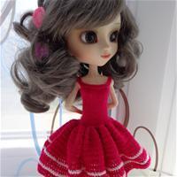 Паулина в розовом платье