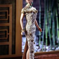 Golden Qi-Pao Barbie