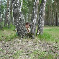 Летний денёк в лесу. Приключения с Поппи.