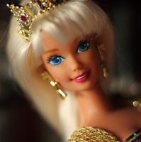 Mermaid jewel hair Barbie