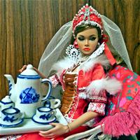Русская княгиня Ольга. Царское чаепитие.