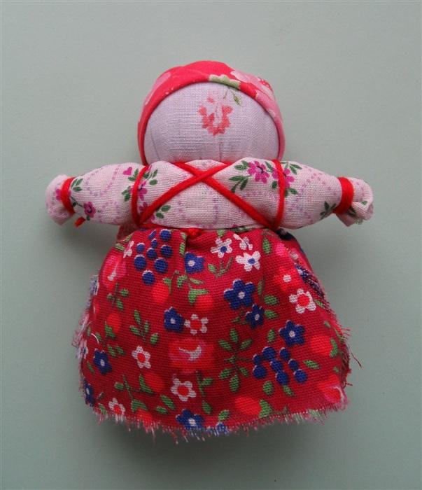 Кукла Вятская неваляшка