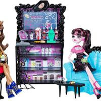 Coffin Bean with Clawdeen Wolf и Draculaura