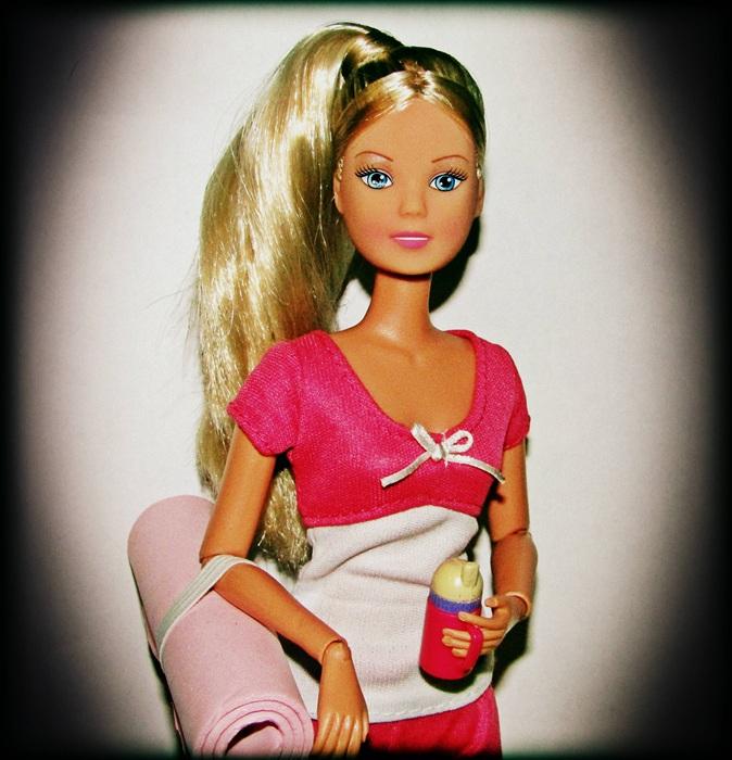 Кукла Steffi Yoga