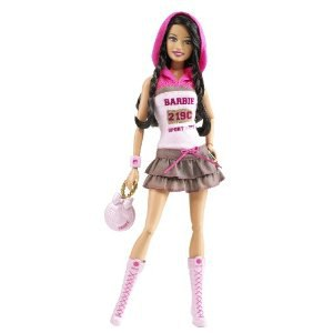 Кукла Elena Gilbert(Barbie Fashionistas Sporty 2009 Mattel)