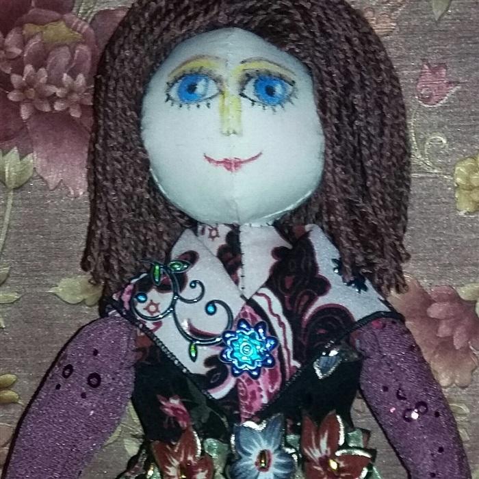 Кукла  Ирина Чекушина