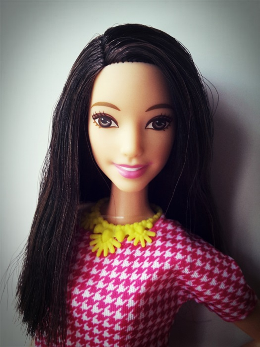 Кукла Barbie Fashionistas #30 White & Pink Pizzazz