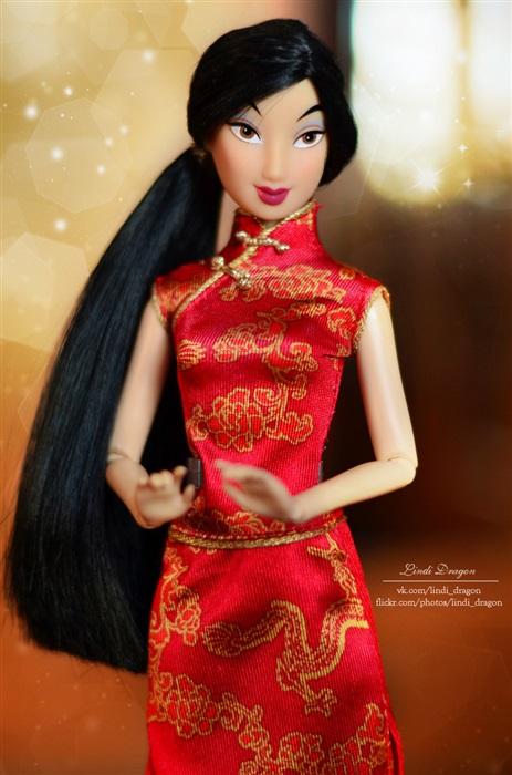 Кукла Mulan