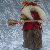Баба Яга. Оберег и подарок. Кукла-мотанка.