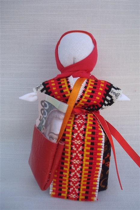 Кукла Успешница - оберег для прибыли.Кукла-мотанка. Подарок для каждого.