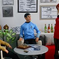 Каюта капитана Энтерпрайз