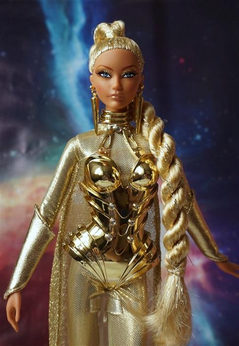 Кукла Golden Galaxy Barbie