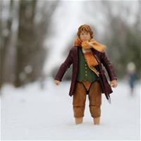 Хоббит...на снегу