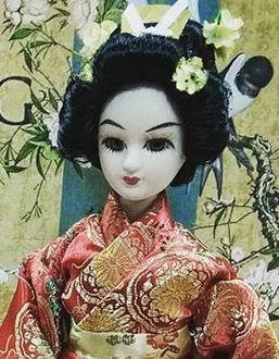 Кукла Невеста японка