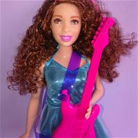 "Barbie ""You can be a rockstar"""