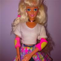 In-line skating Barbie