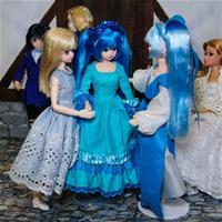 Синяя новогодняя встреча
